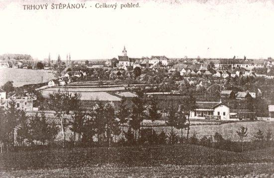 Trhový Štěpánov 1902