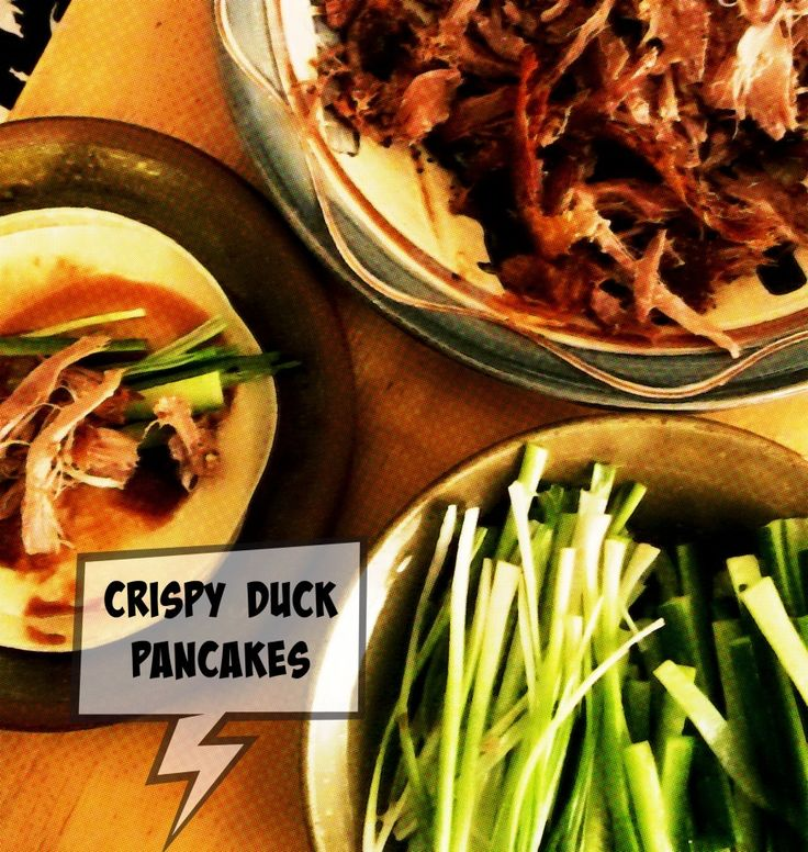 Crispy Duck Pancakes - So much easier than I thought it would be, and packed full of flavour.