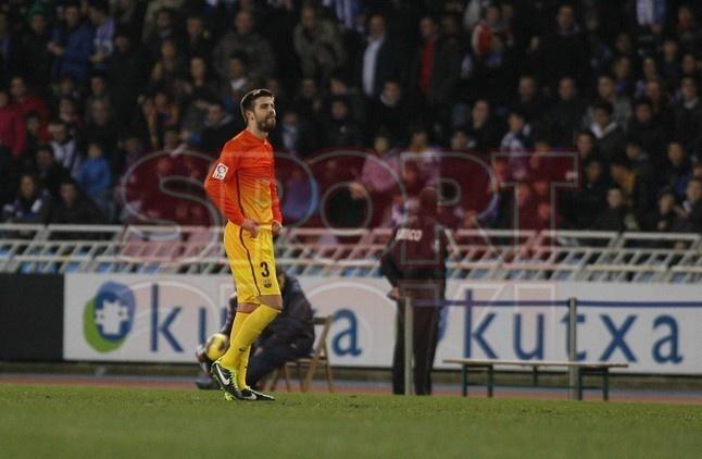 Piqué, FC Barcelona | Real Sociedad, 3 - FC Barcelona, 2. [|9.01.13]