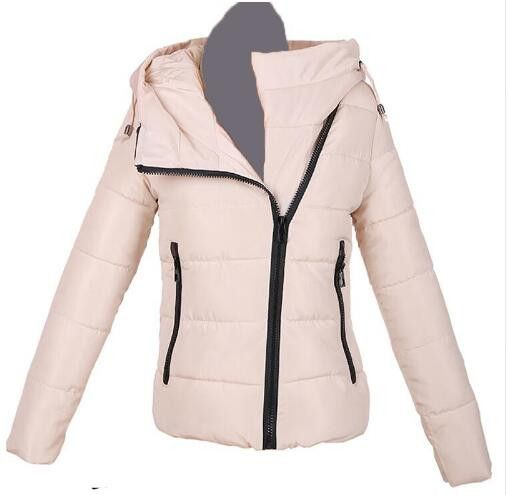 2016 Autumn Winter Jacket Women cotton-padded plus size Winter Coat Women Thicken Warm Parka female Hooded Overcoat M-XXL