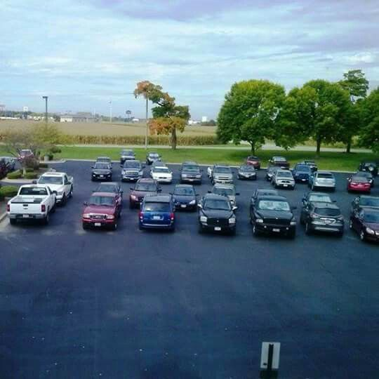 2014.09: View from our meeting room at Ace Hardware Distribution Center, Princeton