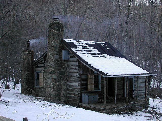 Corbin Cabin by RyaninVa, via Flickr