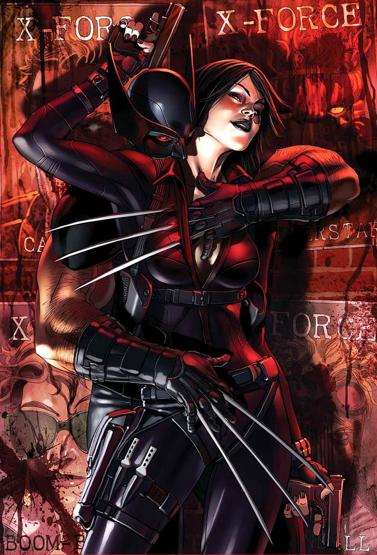 X Force Wolverine Amp Domino By Dell Otto Quot Sex Amp Violence Quot Hot Damn Marvel Ous Mayhem