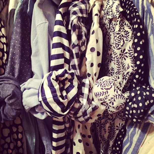 stripes / dots / chambray