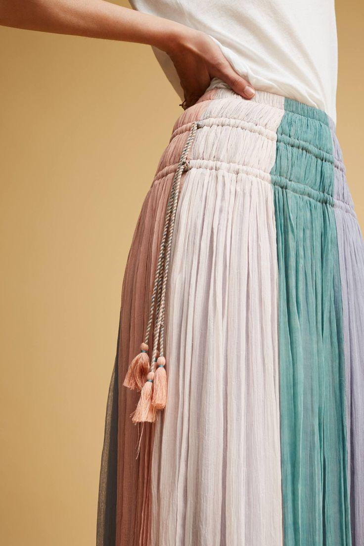 Slide View: 3: Cleo Pastel Skirt