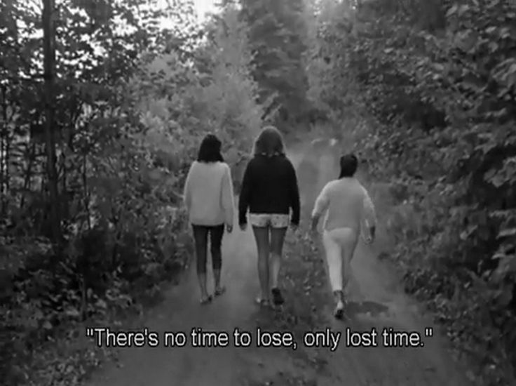 """There is no time to lose only lost time.""'Le Temps Perdu, Michel Brault, 1964."