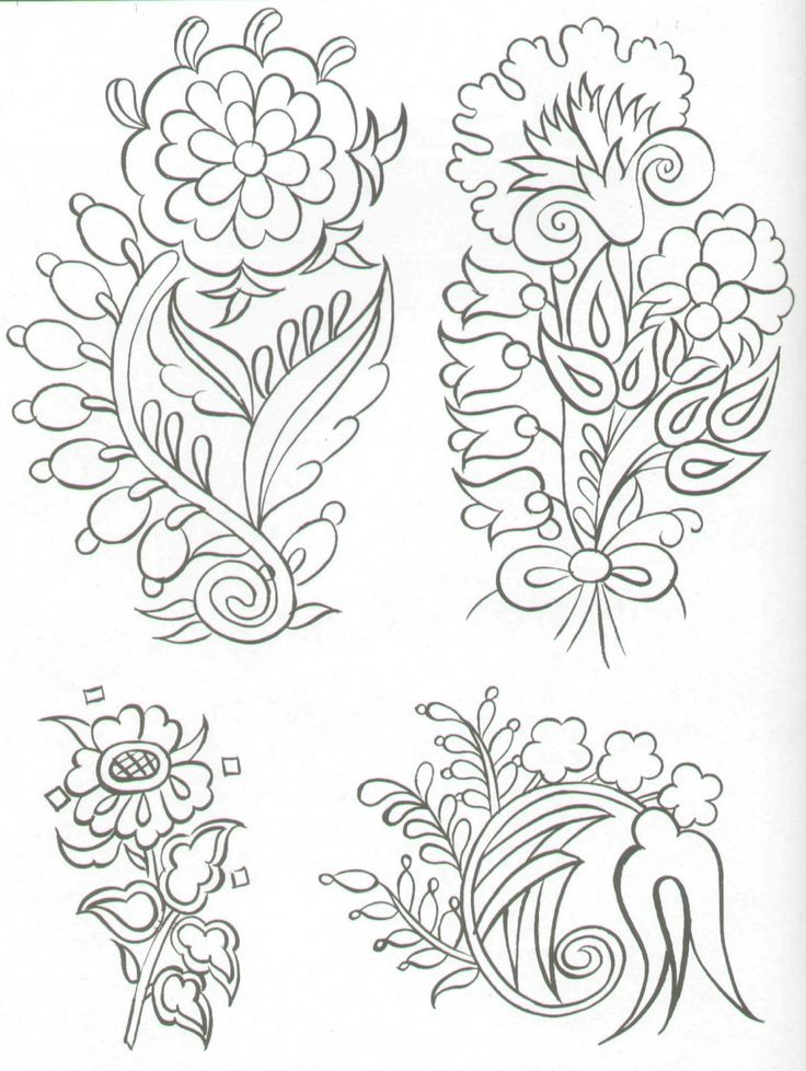 Turkish embroidery design elements