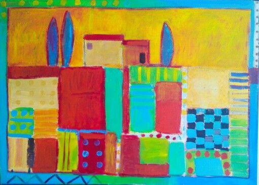 #Kobus#Małgorzata #Italia #painting