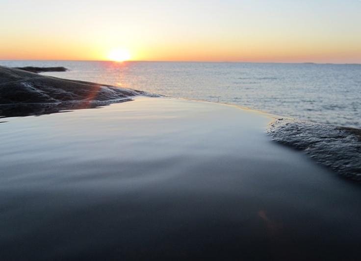 Sunset in Jurmo