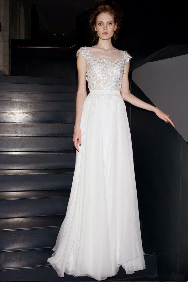 73 best wedding dress images on Pinterest | Short wedding gowns ...