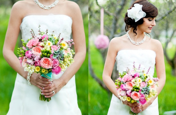 Wedding Flowers Utah County : Best images about garden style bouquets on