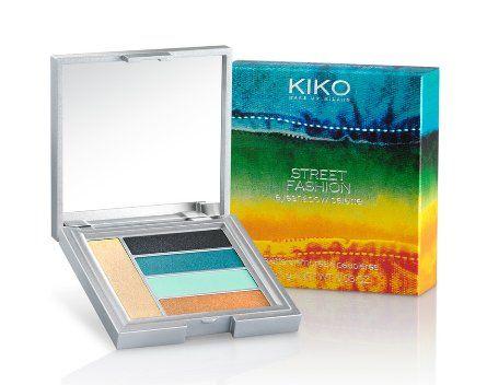 kiko eyeshadow palette, boulevard rock collection spring 2014