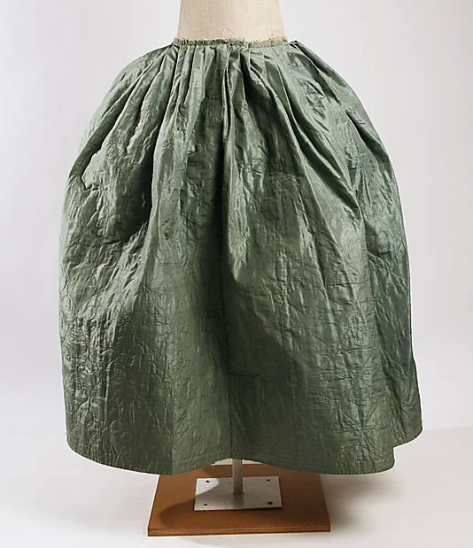 17 Best images about Ladies' Quilted Petticoats 1700-1799 ...