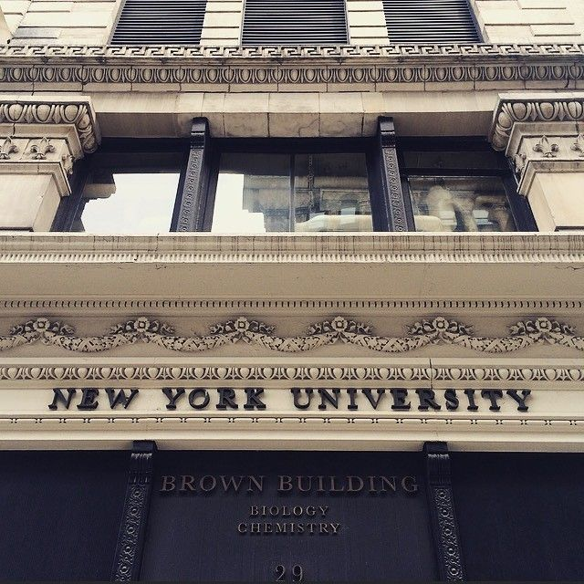 Campus feels awfully lonely this week. #NYU #SpringBreak