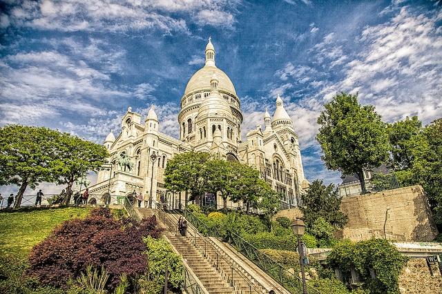 Basilique du Sacré-Coeur Paris, France