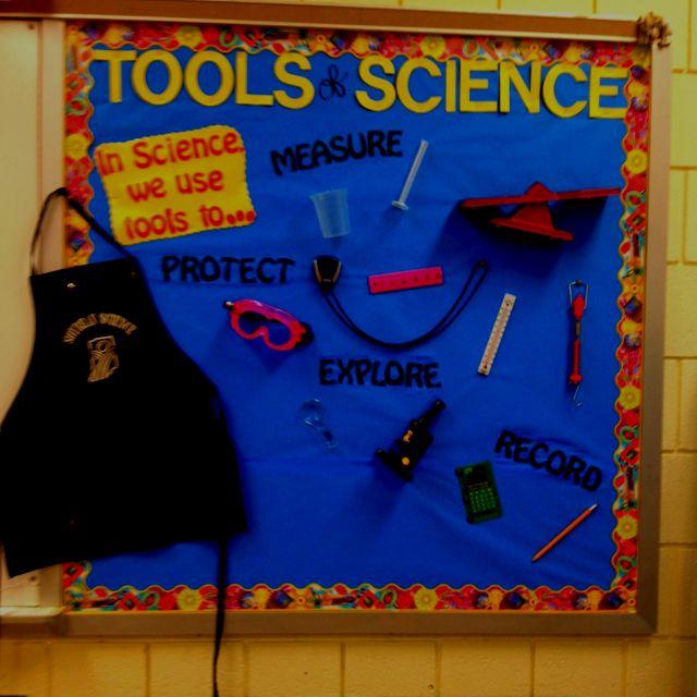 Science bulletin board-tools