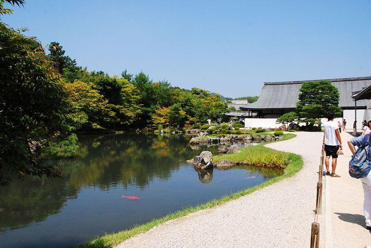 Jardín del templo Tenryu-ji