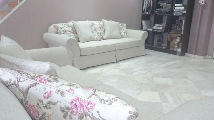 Cozy handmade sofa