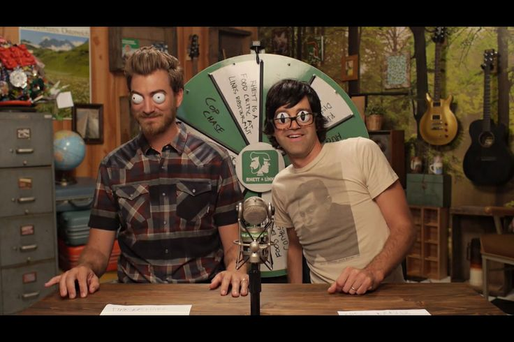 Rhett and Link. mythical beast 4lyfe