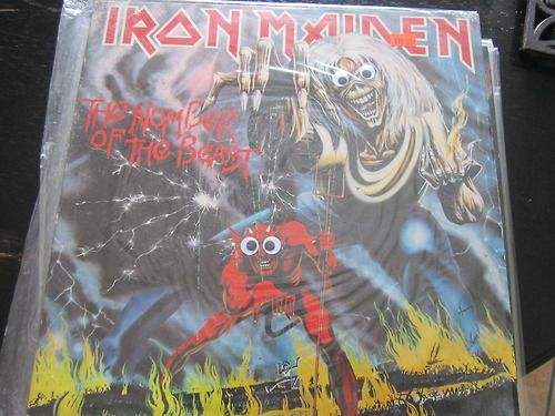 Metal Albums With Googly Eyes!