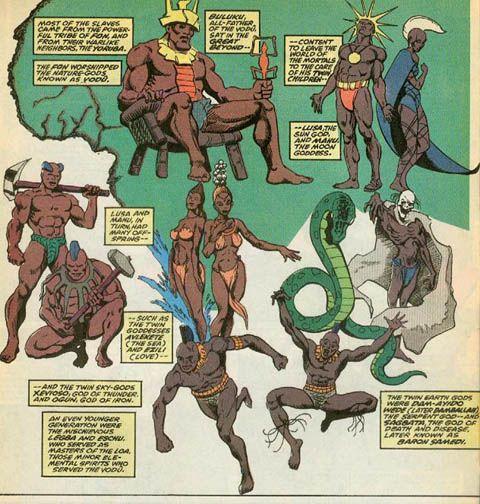 african mythical gods and goddesses | AFRICAN GODS