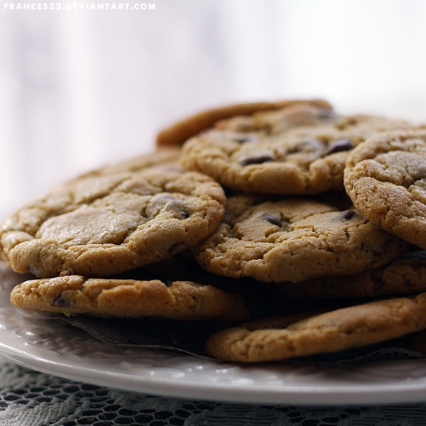 Chocolate chip cookies. #cookies