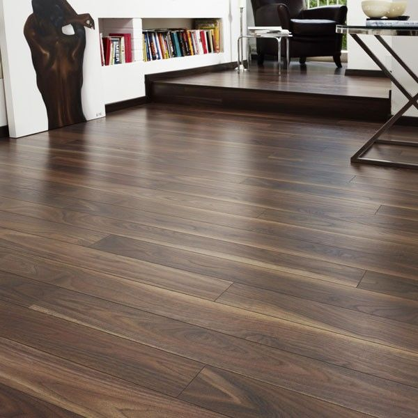 Dark Walnut Krono Laminate Flooring 12mm