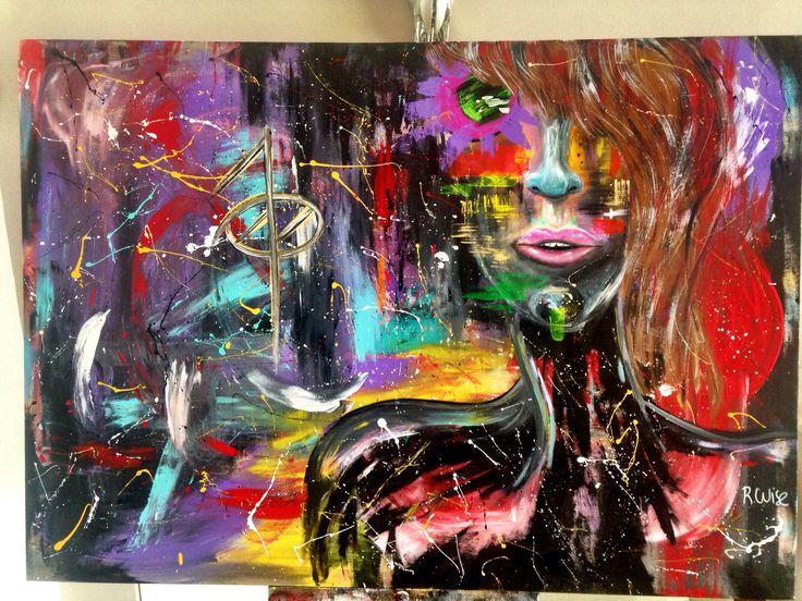 Acrilico sobre tela. Acrylic on canvas. #art #painting #acrylic #acrilico #monterrey #mexico by rwise