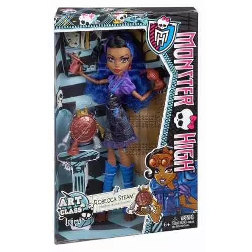 Monster High Robecca Steam Art Class - $ 1.399,99