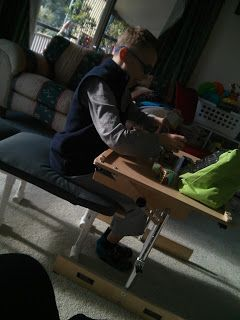 PVC Therapy Bench