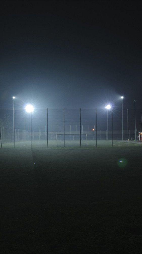 SOCCER FIELD CITY NIGHT LIGHT DARK WALLPAPER HD IPHONE #soccer #soccer #wallpape...