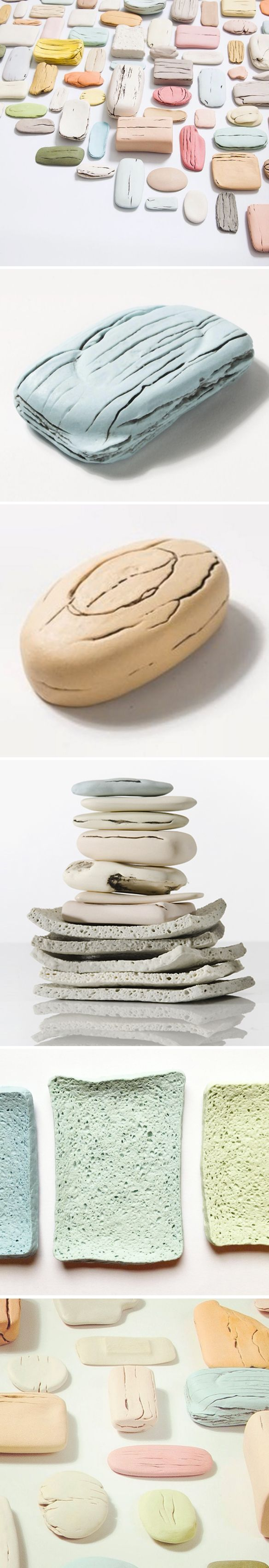 PORCELAIN soap & sponges <3 ceramics by honor freeman