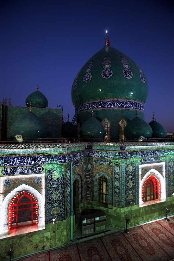 Camps of Imam Hussein in Karbala, Iraq