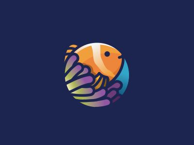 Fish + sea anemones