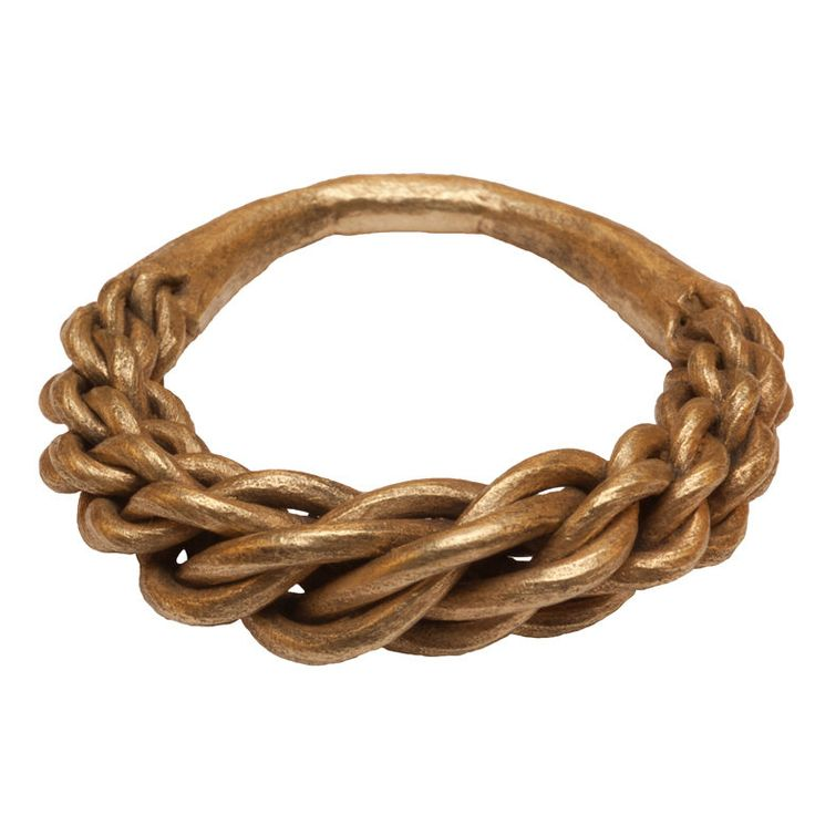 Viking Braided Ring  Viking, Scandinavia or England  9-11th century - (to me this looks like a typical Latvian Namejs ring.)