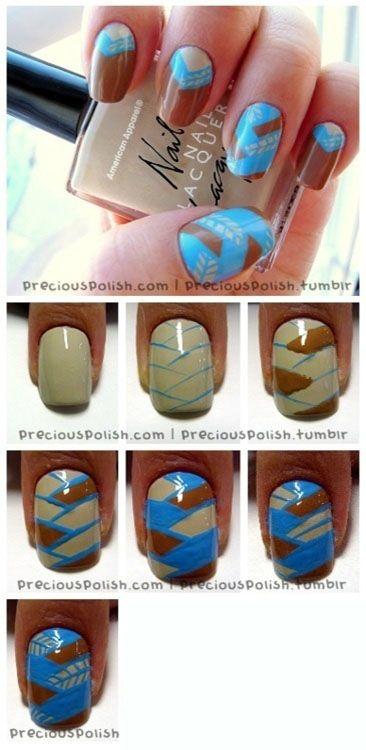 Cute Nails Tutorial | Diy Nails | Nails Tutorials