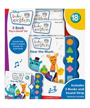 In this book set little ones find music in everyday life, from the sounds of bees and birds flying by to the rhythm of musical instruments, water, wind and the movement of animals. This boisterous book set includes classic songs by Mozart, Strauss, Bach and more. Perfect for the aspiring musician!