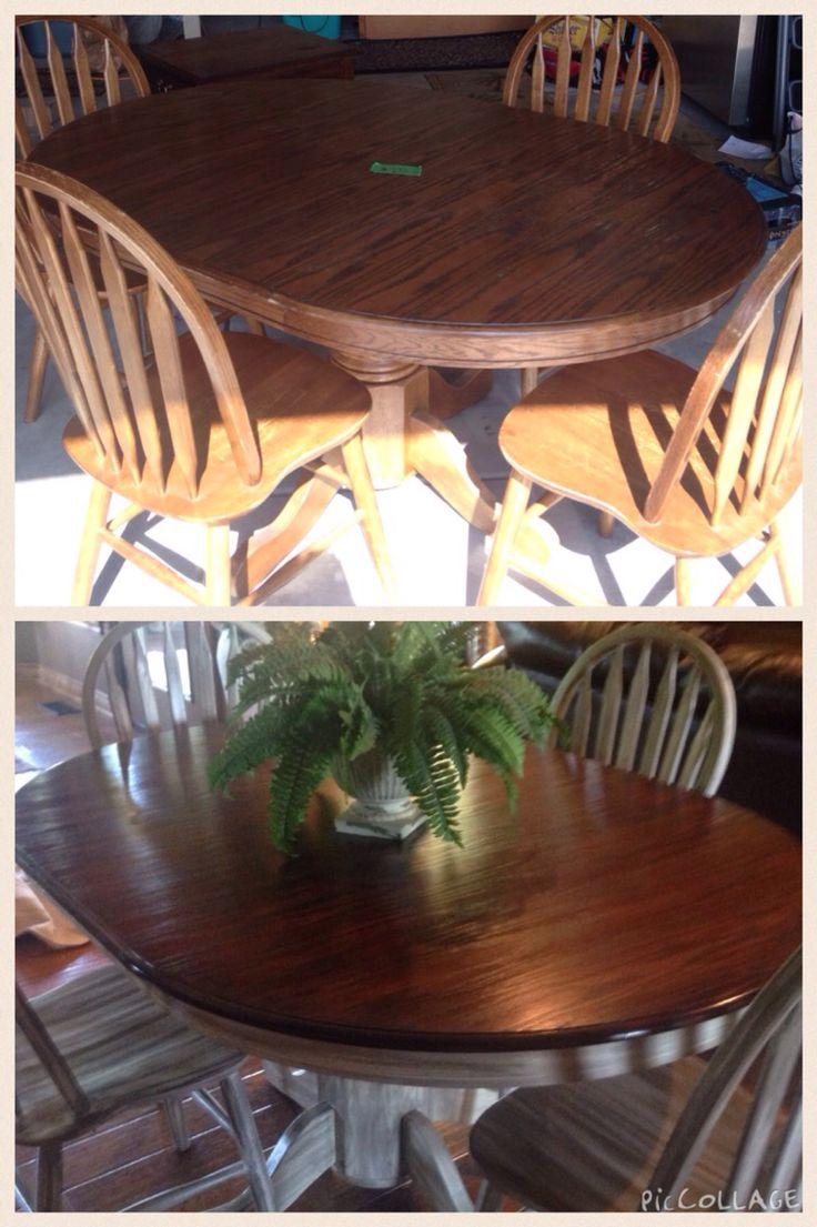 Projects Idea Of Steampunk Dining Table.  20 garage sale find Loving the contrast 53 best Flea Market Flips images on Pinterest market flips