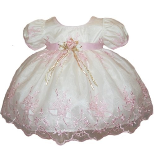 Amazon Com Baby Girl Easter Dresses Pink Embroidery And