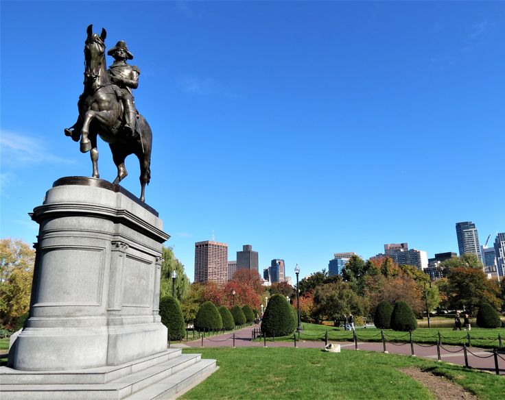 George Washington à Boston (photo personnelle)