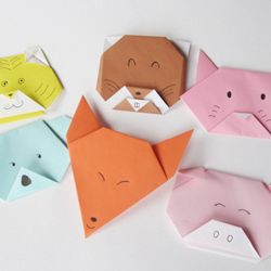 What better to decorate your home than Origami! This is the perfect DIY to make with children!