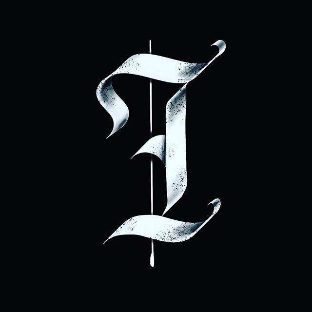I / 36 Days of Type.@36daysoftype / @kerumba .#36daysoftype04 #36days_i #type #tyxca #fraktur #blackletter #gothic #3d #procreateapp #handlettering #ipadpro #typism #50words #strengthinletters #blackettersociety #calligraphy #calligraphymasters #i #alphabet #bftype #artoftype #thedailytype #typeyeah #typespire #thedailytype