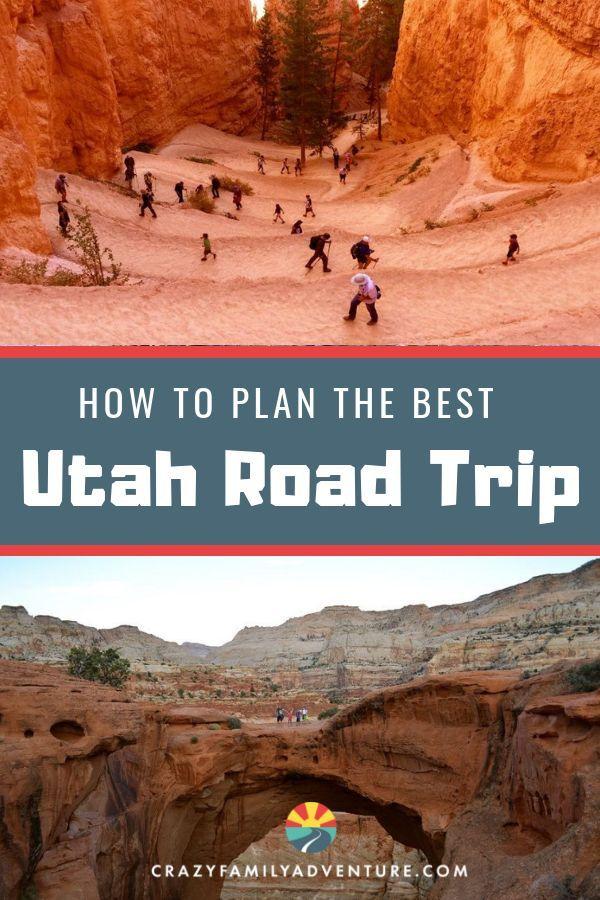 Como planejar uma viagem para todos os 5 parques nacionais de Utah [Map Included]   – RV Travel Tips