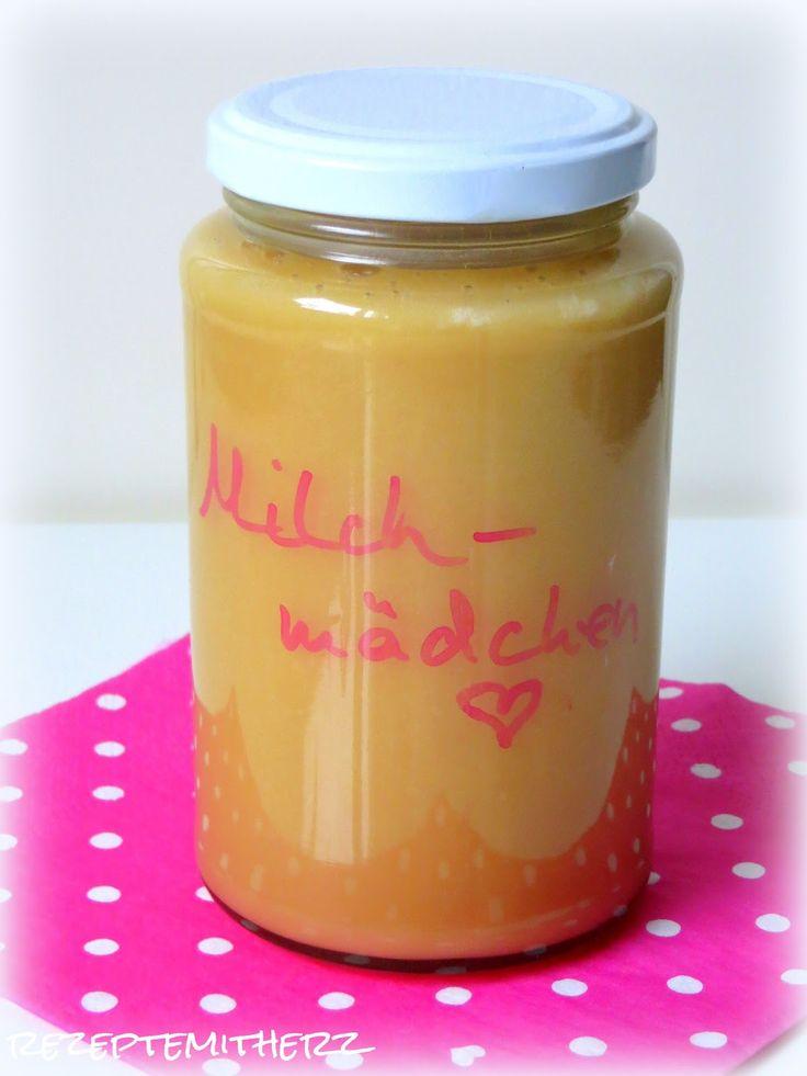 Rezepte mit Herz ♥: Milchmädchen homemade - gezuckerte Kondensmilch