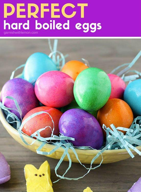 Perfect Hard Boiled Eggs | Recipe | Perfect Hard Boiled Eggs, Hard ...