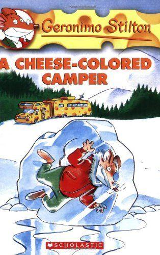 A Cheese-Colored Camper (Geronimo Stilton, No. 16) by Geronimo Stilton, http://www.amazon.com/dp/0439691397/ref=cm_sw_r_pi_dp_GfNasb11X3SSR