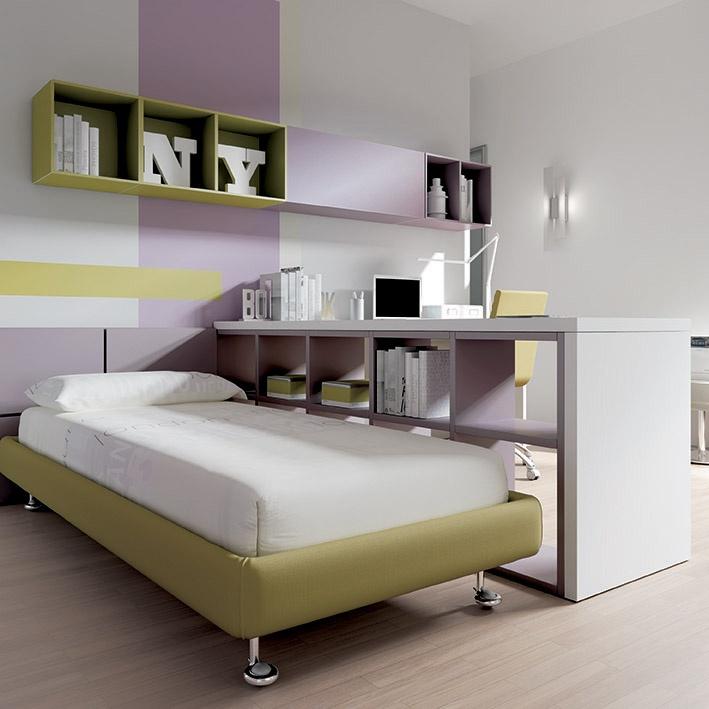 Arredamento cameretta moretti compact collezione 2012 team kids kc18 letto scrivania - Letto moretti compact ...