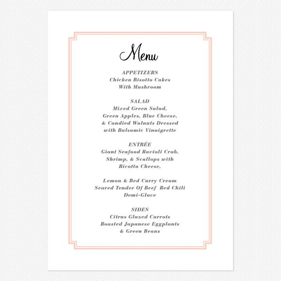 8 best Menus for Sadi images on Pinterest Wedding menu, Wedding - best of is invitation to tender