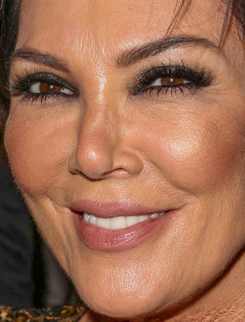 kris jenner more close-ups of kris jenner can be found here kris jenner plastic surgery red carpet makeup celeb celebrity celebritycloseup