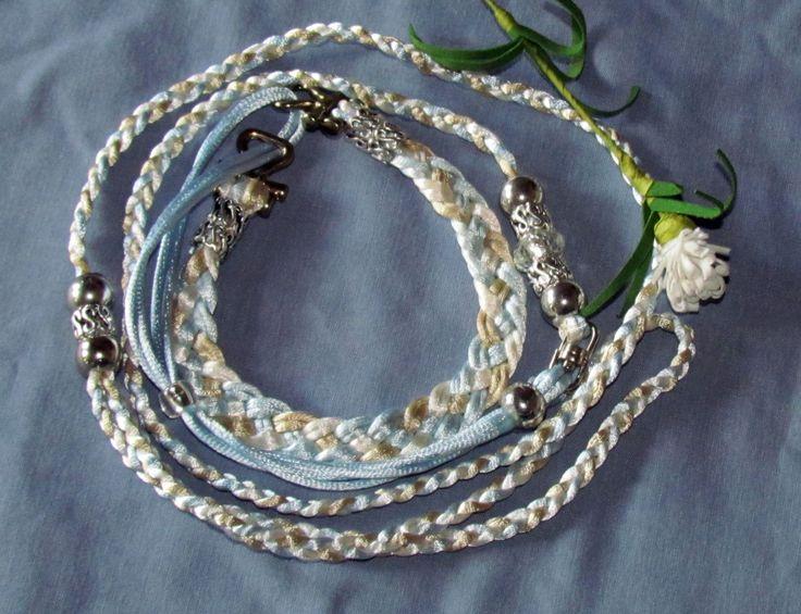 Kindness Martingale , 3 strand satin cord. R180